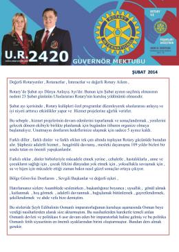 Ocak - Rotary 2440. Bölge