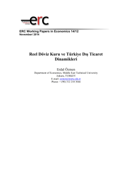 Full Text - ERC - Middle East Technical University