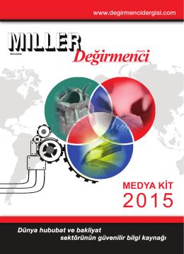 Medya Kit • 2015 - Miller Magazine