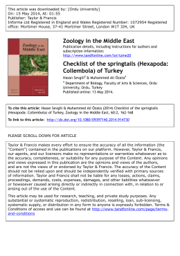 of Turkey - ResearchGate