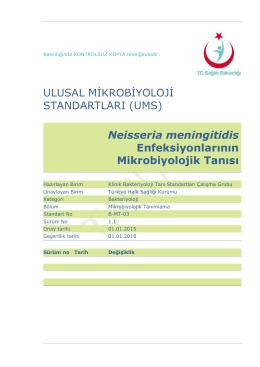 Neisseria meningitidis enfeksiyonları