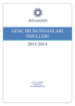 BAGEP 2013-2014 Kitapçığı Kısa Versiyon
