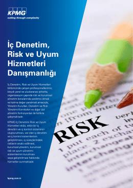 İç Denetim, Risk ve Uyum Hizmetleri Danışmanlığı