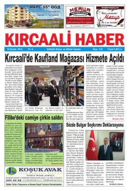 Sayı 219/2014 - Kırcaali Haber