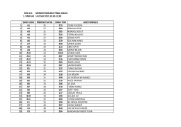 eng 151 merkezi ingilizce final sınavı 1. sınıflar 14 ocak 2015 10:30