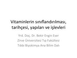 A vitamini - Zirve Üniversitesi
