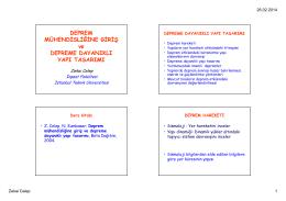 DDYT-1 - İstanbul Teknik Üniversitesi