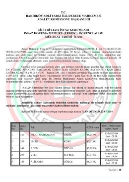 (erkek ) öğrenci alımı mülakat tarihi ilanı. 23.07.2014