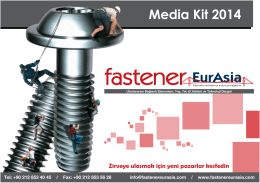Media Kit 2014 - Fastener EurAsia