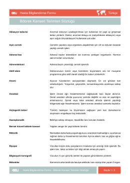 Indirmek - EAU Patient Information