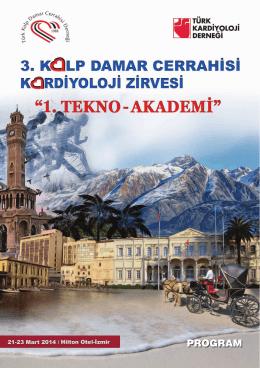 Untitled - Türk Kalp ve Damar Cerrahisi Derneği