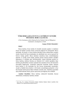 borca katılma - Ankara Üniversitesi Dergiler Veritabanı