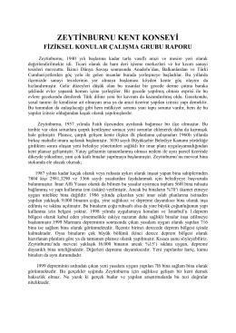 ZEYTİNBURNU KENT MECLİSİ - Zeytinburnu Belediyesi