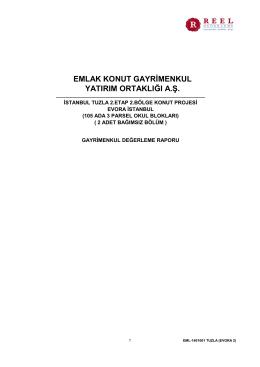 İstanbul Tuzla 2. Etap 2. Bölge Arsa Satışı