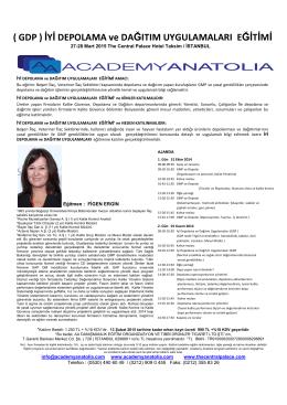 GDP PRG - academyanatolia.com