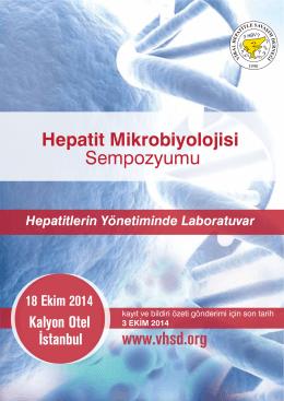 Sempozyumu Hepatit Mikrobiyolojisi