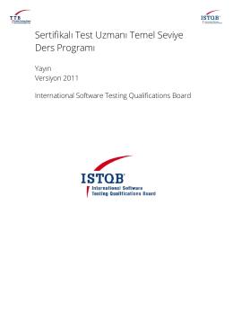 Ücretsiz İndir - Turkish Testing Board
