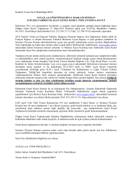İstanbul Ticaret Sicil Müdürlüğü
