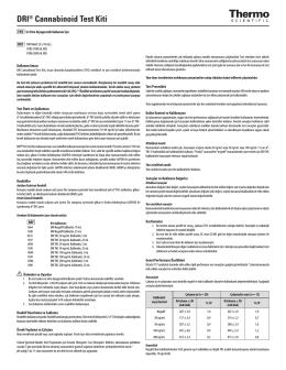 DRI® Cannabinoid Test Kiti
