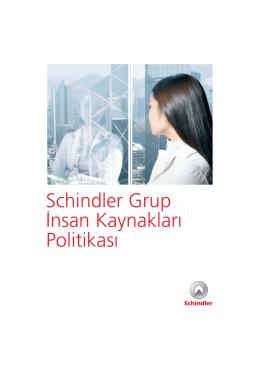 Schindler IK Politikası (PDF, 1 MB)