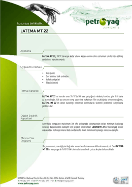 LATEMA MT 22
