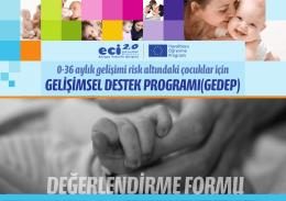 gelişimsel destek programı(gedep)