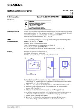 Netzumschaltsteuergerät