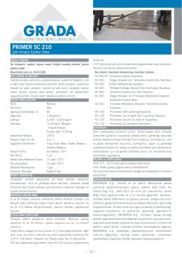 PRIMER SC 210
