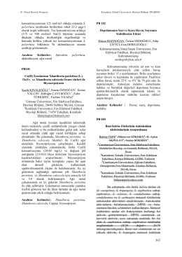 İyonlarının Xhanthoria parietina (L.)
