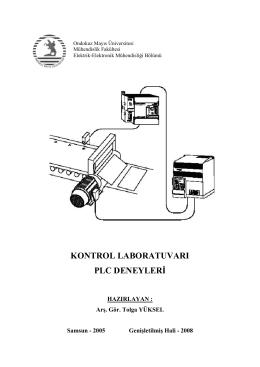 kontrol laboratuvarı plc deneylerđ