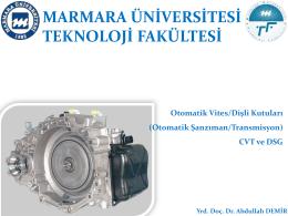 OTOMATIK VITES KUTUSU_CVT ve DSG