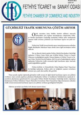 Sayı- 19 - Fethiye Ticaret ve Sanayi Odası