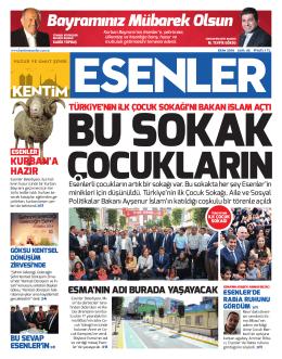 EKİM 2014 - Esenler Belediyesi