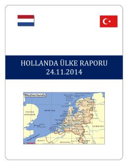 hollanda ülke raporu 24.11.2014