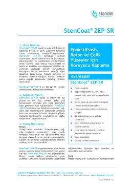 StenCoat® 2EP-SR