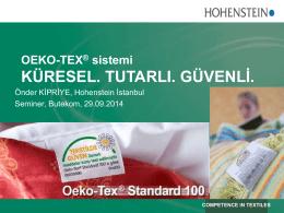 OEKO-TEX - Butekom