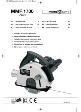 MMF 1700 - Meister Werkzeuge
