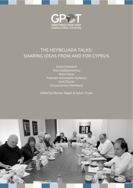The Heybeliada Talks: Sharing Ideas from and for Cyprus Costa