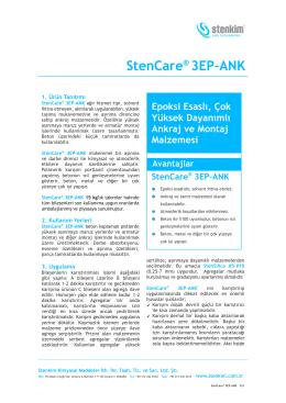 StenCare® 3EP-ANK