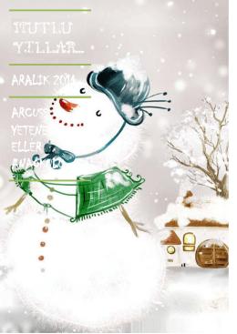 Arcus Yetenekli Eller Anaokulu – Aralık 2014 Eğitim Programını