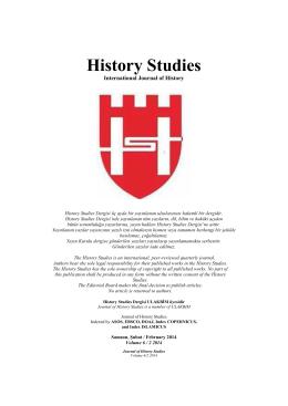 History Studies