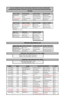 tarih saat salon 2014-2015 öğretim yılında aydın gençlik hizmetleri