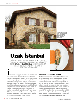 Uzak İstanbul - Casa Lavanda Butik Otel