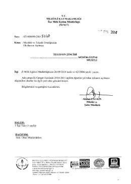 """"""""""",,, L1J - mersin - mezitli ilçe millî eğitim müdürlüğü"""