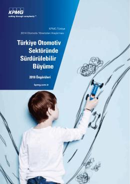 KPMG Türkiye Otomotiv Sektör Raporu – 2014