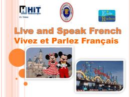 Vivez et Parlez Français - Özel Tevfik Fikret Okulları