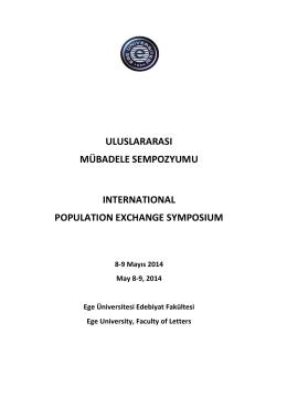 9 Mayıs 2014 - Edebiyat Fakültesi