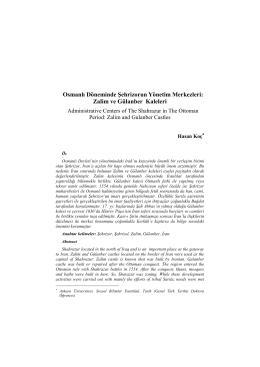 Osmanlı Döneminde Şehrizorun Yönetim Merkezleri