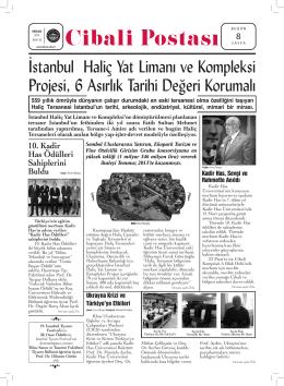 İstanbul Haliç Yat Limanı ve Kompleksi Projesi, 6 Asırlık Tarihi
