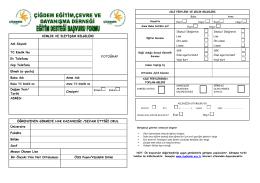 eğitim desteği başvuru formu-2014